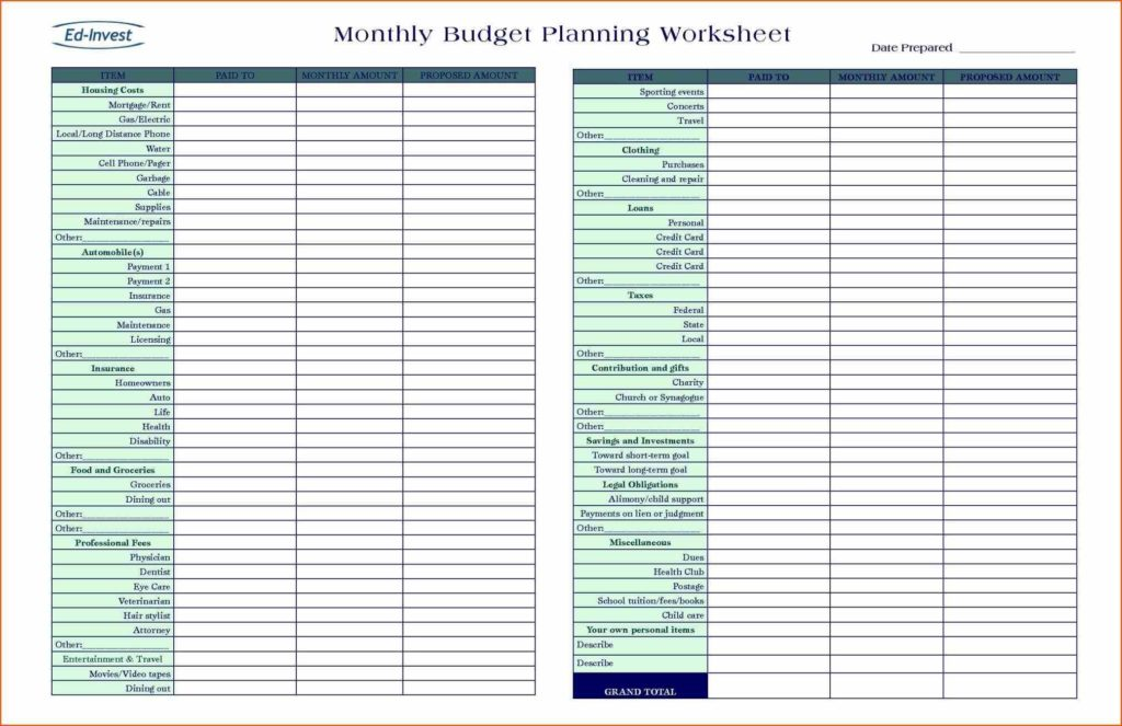 Household Budget Calculator Spreadsheet and Monthly Bud Calculator Template Bud Planner Excel Uk