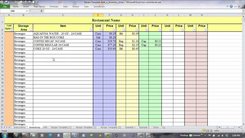 Household Inventory Spreadsheet and Food Inventory Spreadsheet Template 100 Wine Spreadsheet Ncls