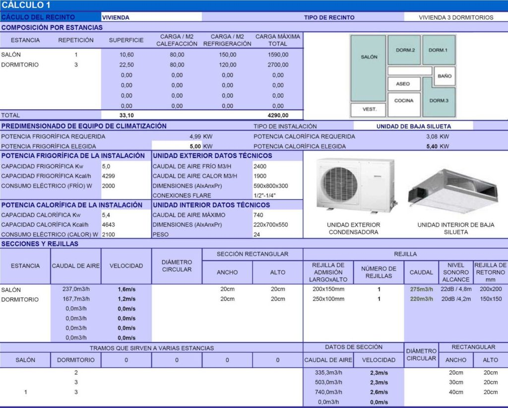 Hvac Load Calculation Spreadsheet and Architect Apps Spreadsheet Preclimat 1 2 Hvac Facilities