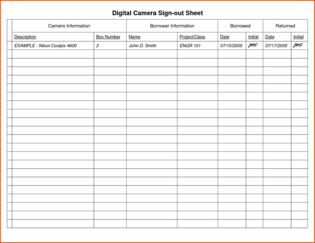 Inventory List Spreadsheet and Criminal Sample Inventory Sign Out Sheet Template Spreadsheet