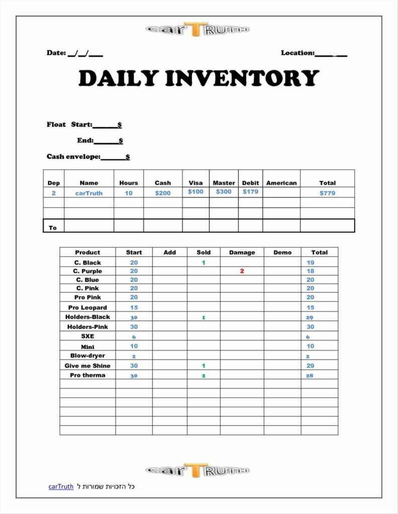 Inventory Tracking Spreadsheet Template Free and Inventory Sheets Templates to Create Inventory Spreadsheet