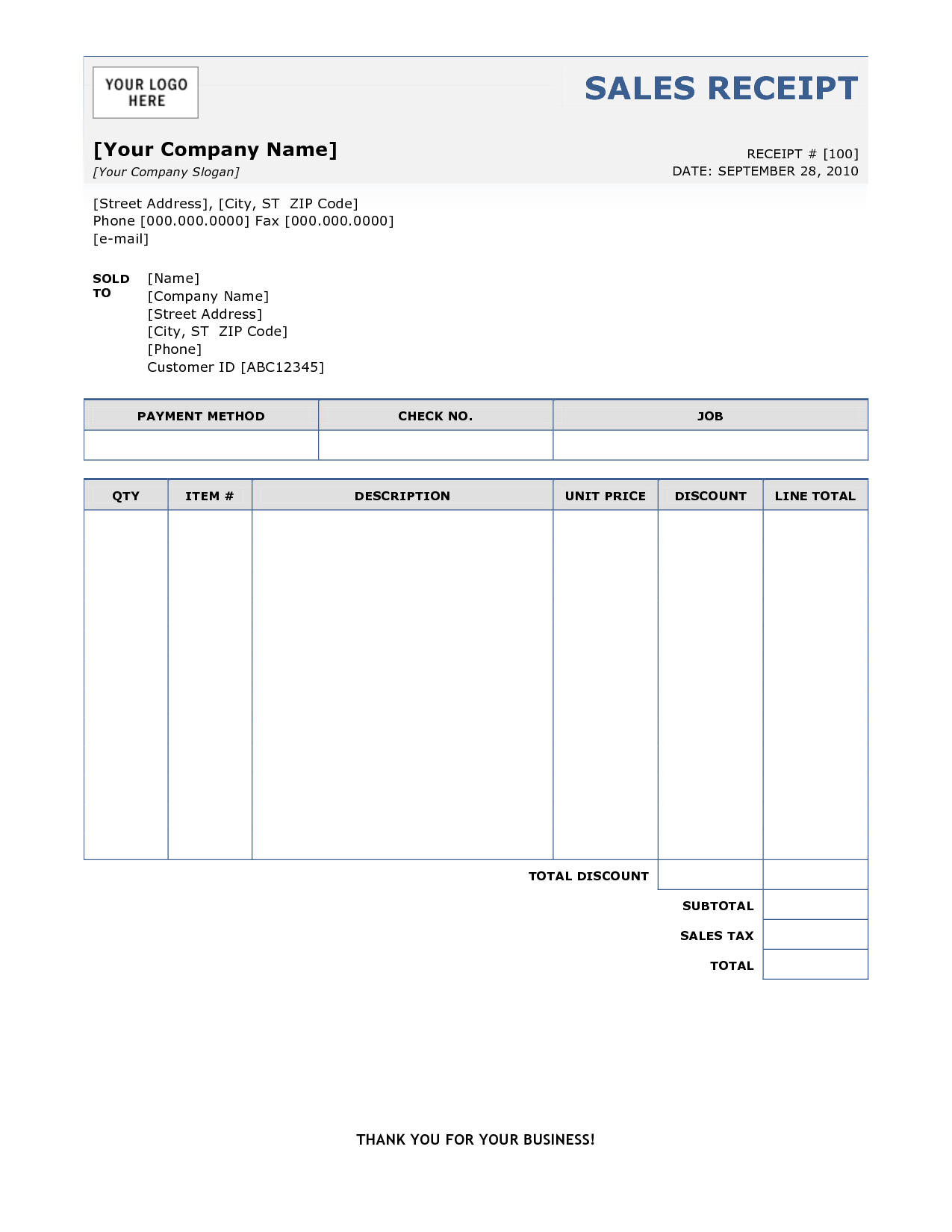 Invoice Template for Ipad and Sample Invoice Receipt Free Free Invoice Template