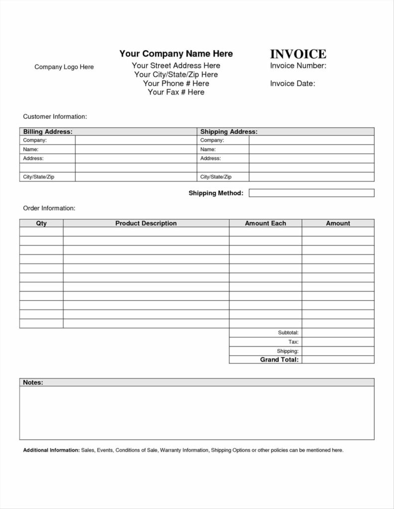 It Consultant Invoice Template and Application form format Basic Receipt Template Doc Sample Invoice