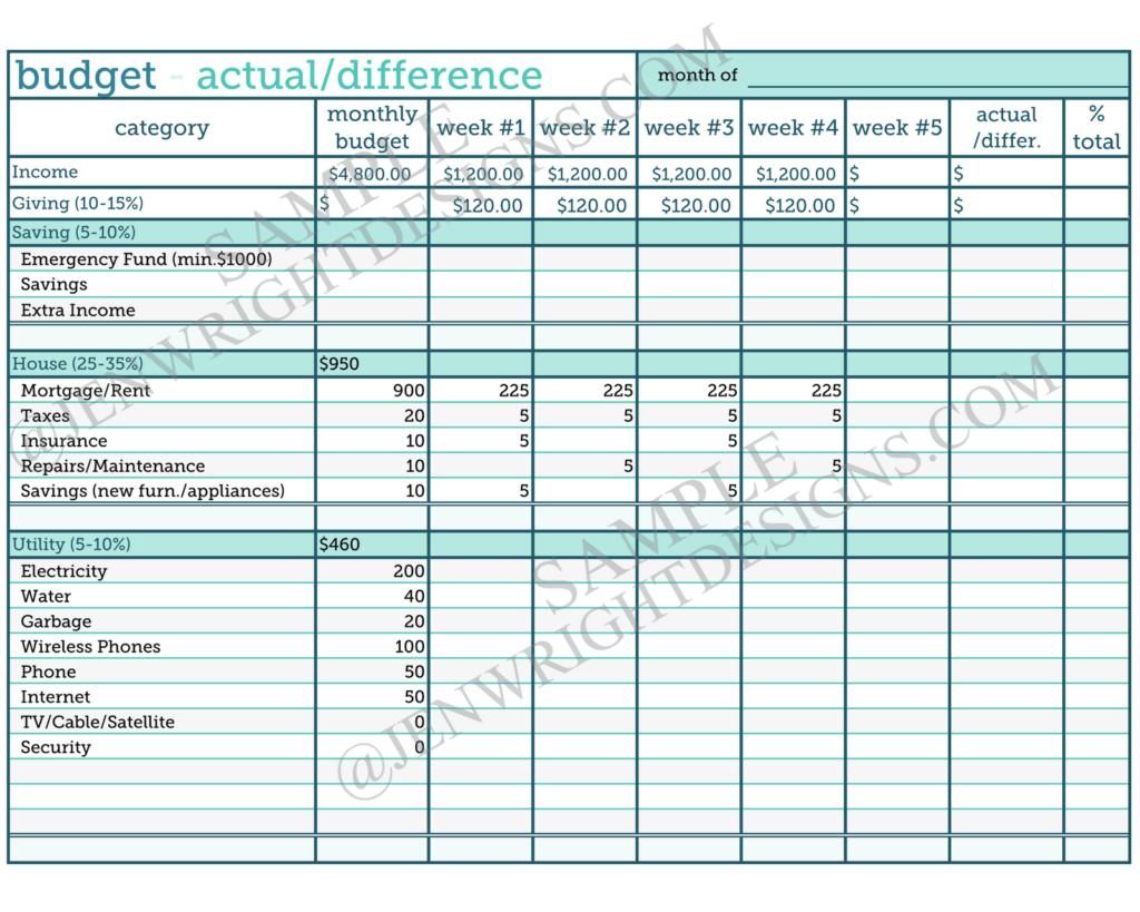 Keeping A Budget Worksheet and Your Free Bud Worksheet Beachmonkeys Christian