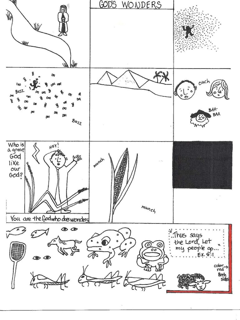 Kids Bible Study Worksheets and Free Bible Lessons for Kids Aunties Bible Lessons Page 26