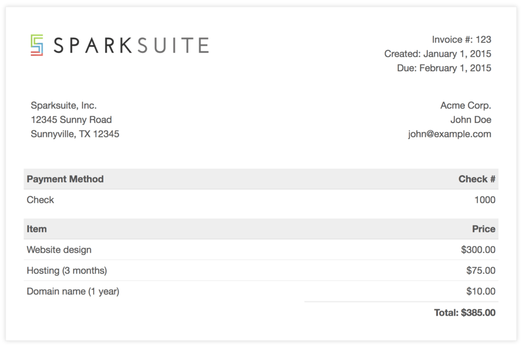 Landscape Invoice Template and Github Sparksuite Simple Invoice Template A Modern Clean