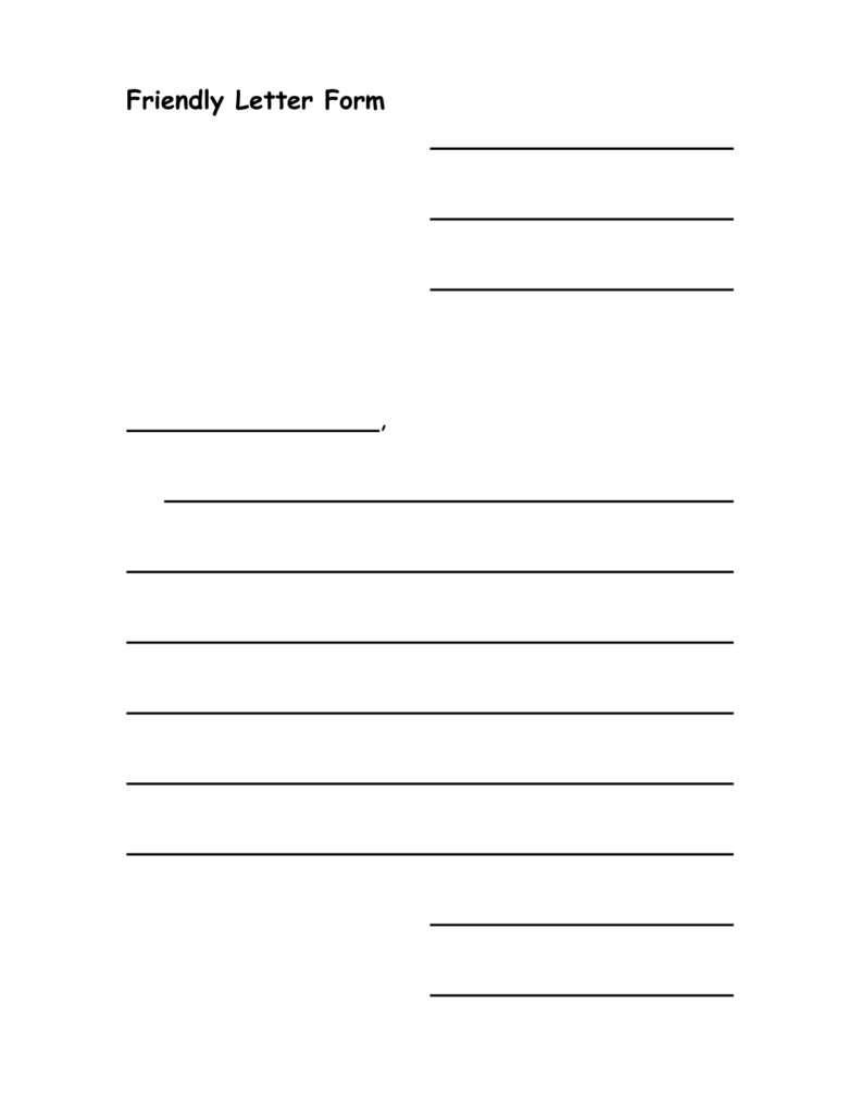 Letter Writing Worksheets for Grade 5 and Writing A Friendly Letter 3rd Grade Cover Letter Templates