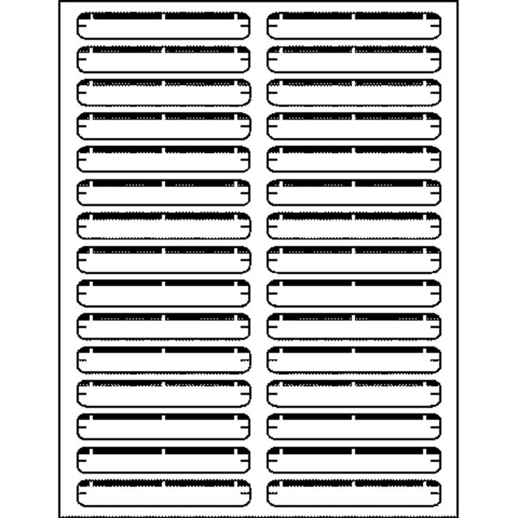 Mailing Label Templates 30 Per Sheet and Business source Laser Inkjet File Folder Labels Permanent