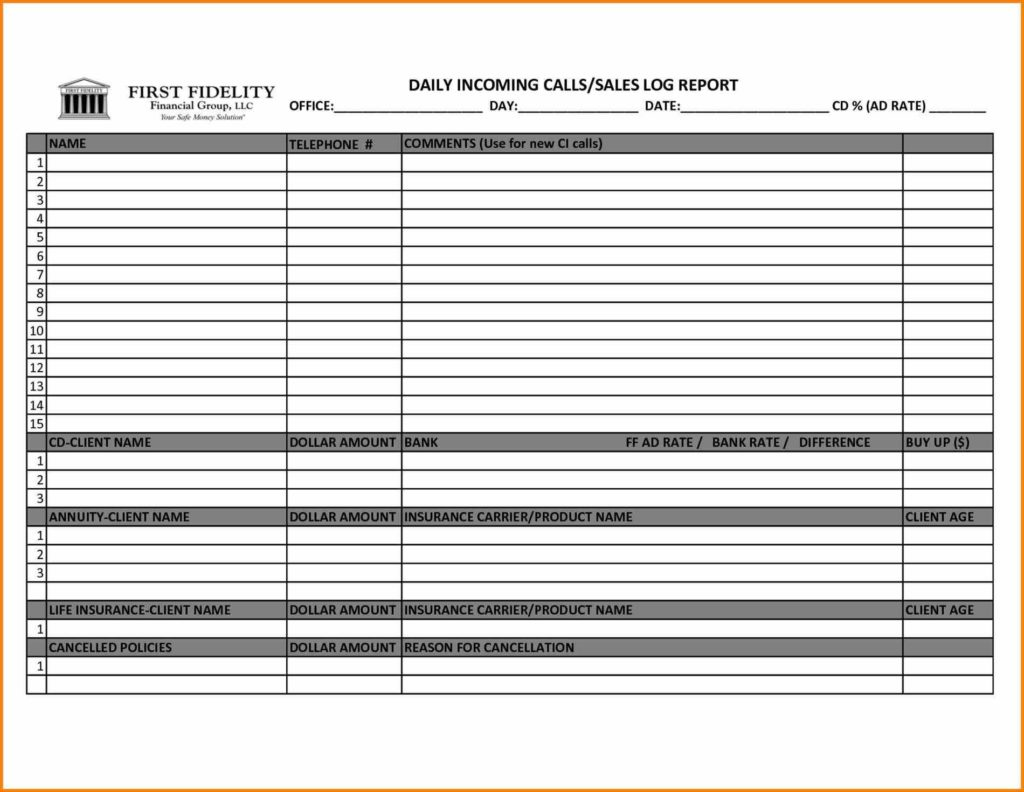 Marketing Tracking Spreadsheet and Tracking Spreadsheet Sheet for Employees Free Rent Agreement