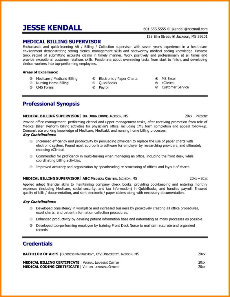 Medical Billing and Coding Job Description Sample and Medical Coder Job Description Haerve Job Resume Inside Billing