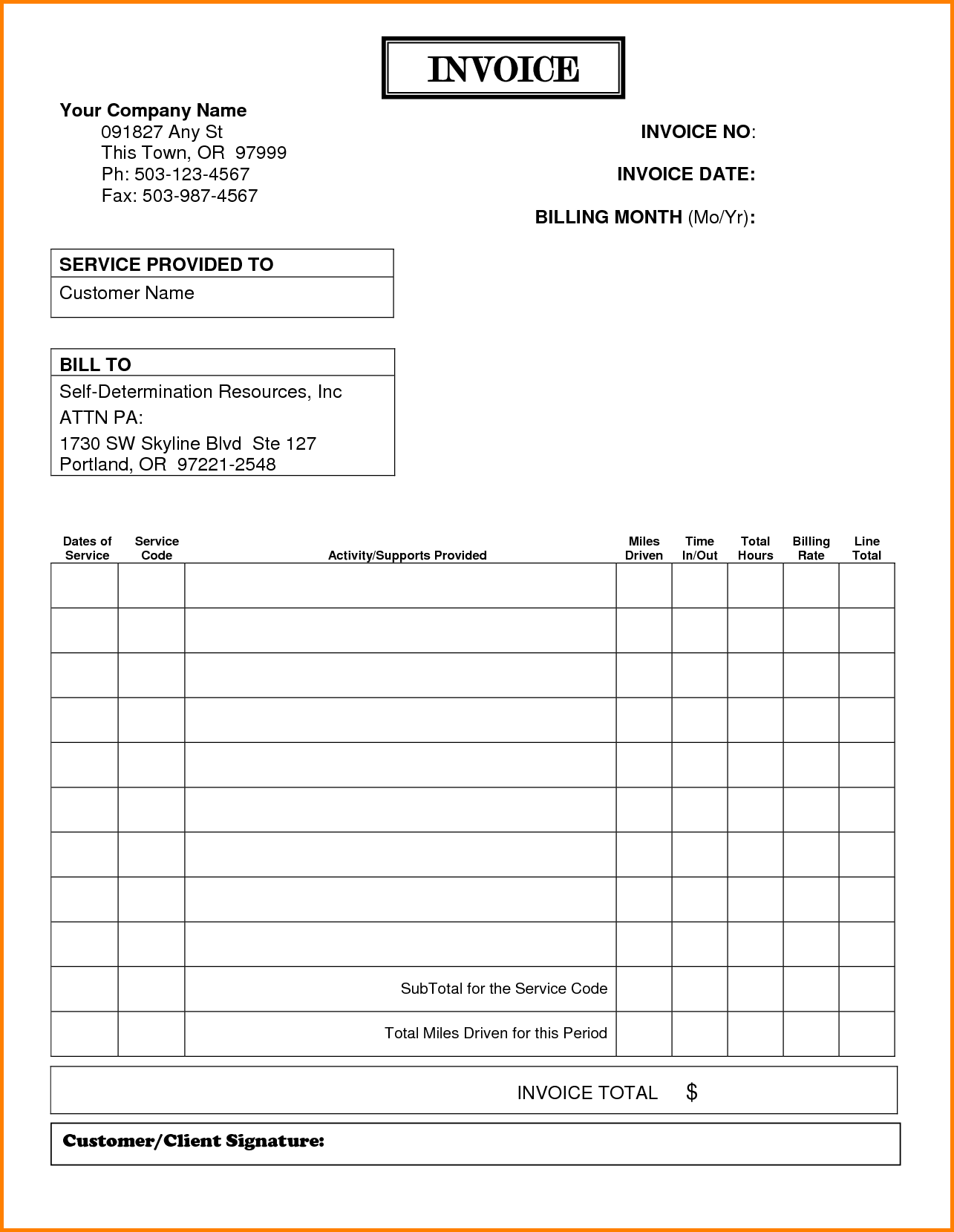 Medical Bills Template and 11 Billing Receipt Template Free Simple Bill