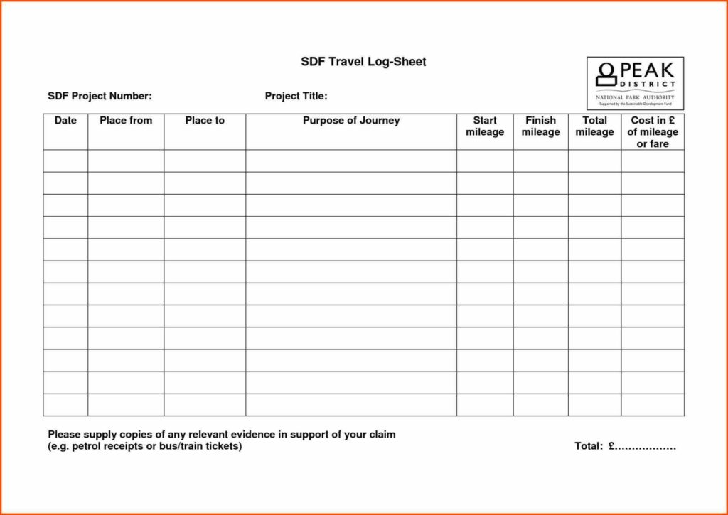 Mileage Expense Report Template and 100 Mileage Templates Business Mileage Tracker Savvy