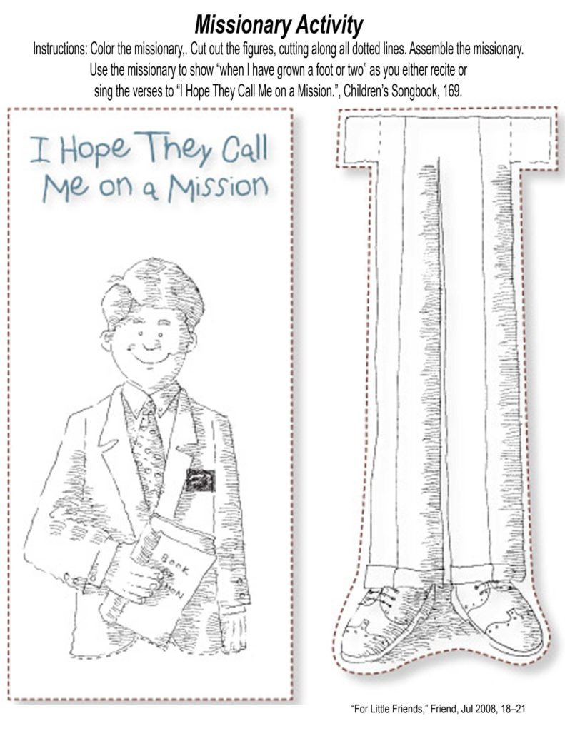 Missionary Mission Statement Examples and Mormon Share I Hope they Call Me On A Mission