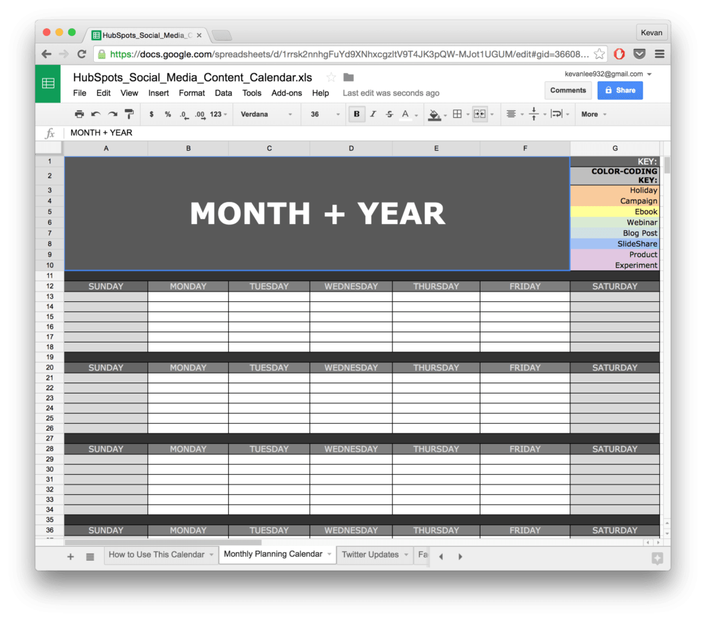 Monthly Marketing Report Template and 10 Ready to Go Marketing Spreadsheets to Boost Your Productivity today