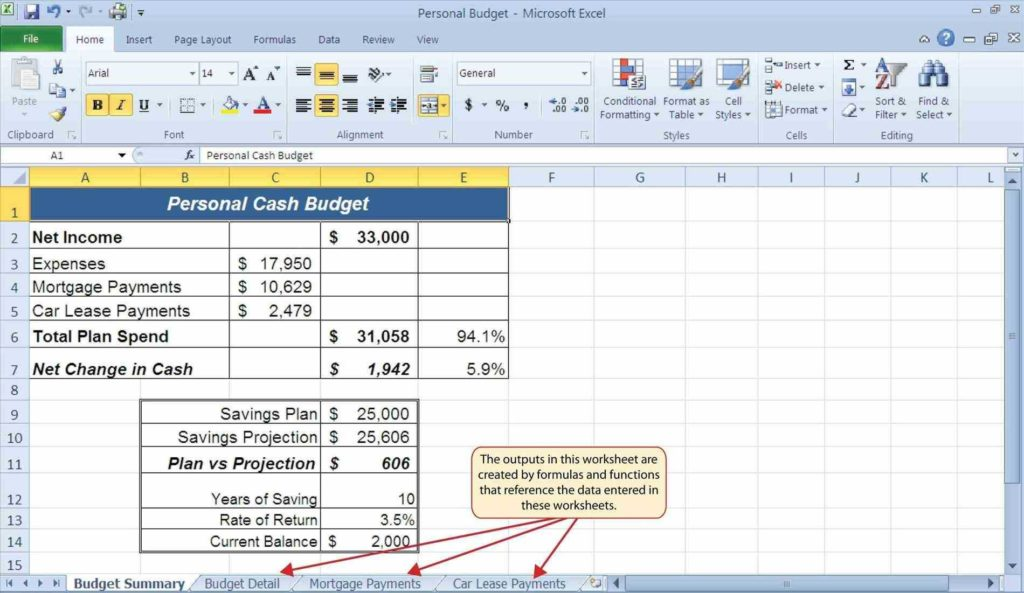 Mortgage Payment Table Spreadsheet and Cost Spreadsheet U Haisume Monthly Bill Template Free