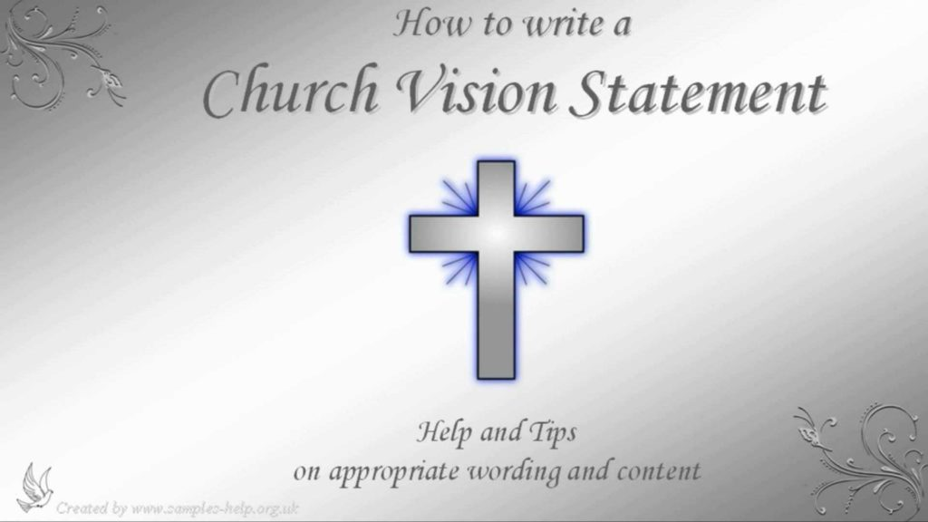 Outreach Mission Statement Examples and How to Write Church Vision Statements Youtube