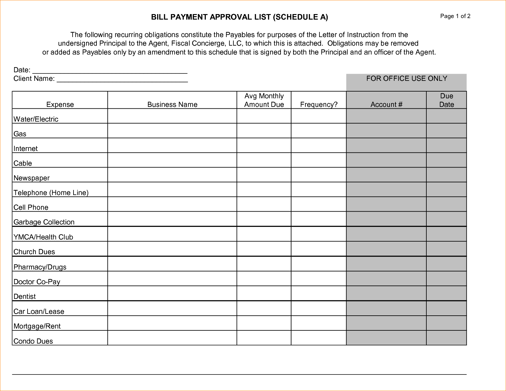 Paid Bills Template and Doc Bills to Pay Template 1000 Ideas About organizing