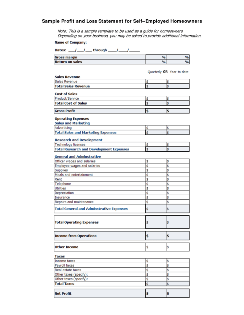 Profit and Loss Statement Template Free Download and Doc Contact Book Template Address Book form 75