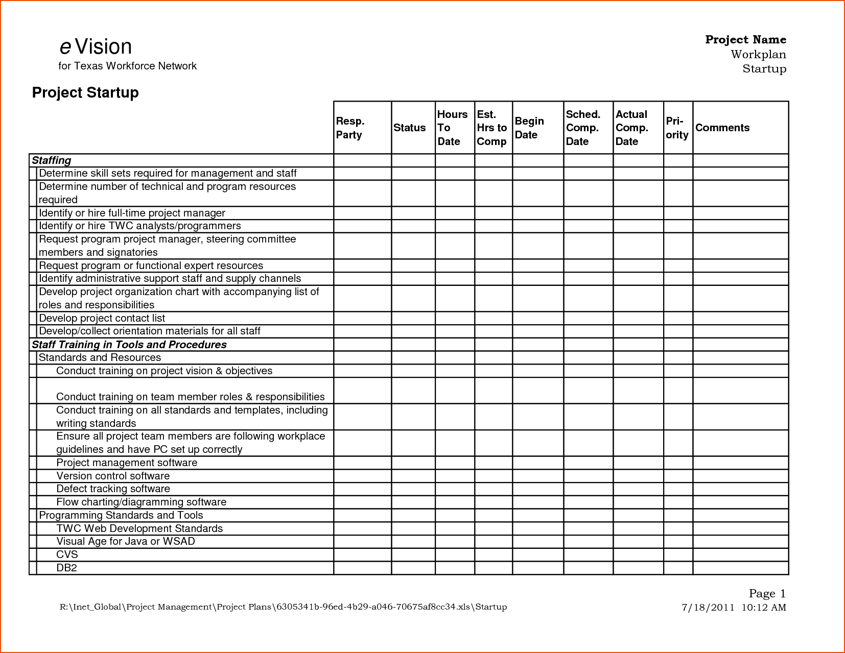 Project Daily Status Report Template Excel and 6 Status Report format Bookletemplate
