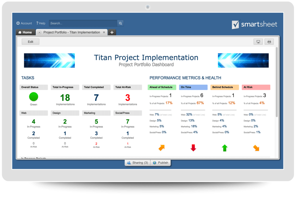 Project Manager Spreadsheet and Project Management solutions Smartsheet