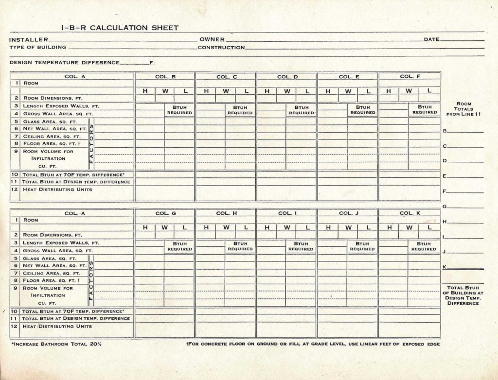 Residential Hvac Load Calculation Worksheet and when Do I Need to Perform A Load Calculation
