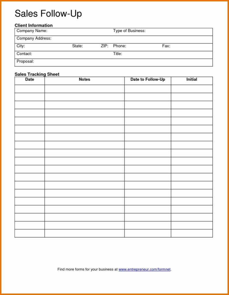 Sales Lead Report Template and Lead Sheet Template Personal Information forms Client Data Sheet