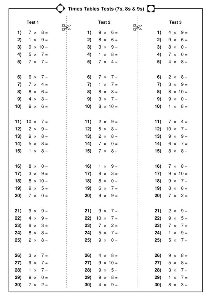 sample kumon math worksheets