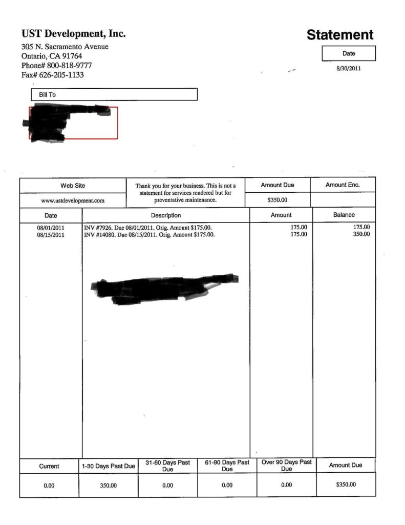 Sample Of An Invoice for Services and Bill Sample Doc Rabitah