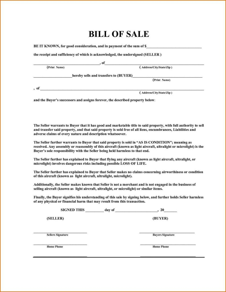 Sample Of Bill Of Sale for Used Car and Sample Of Bill Of Sale for Used Car Teerve Sheet