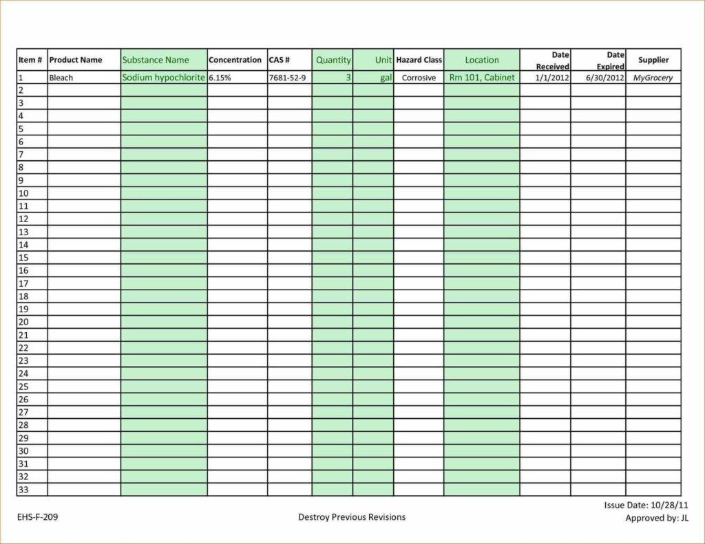 Sample Of Excel Worksheet and Excel Inventory Sheets Templates Exceltemplates123
