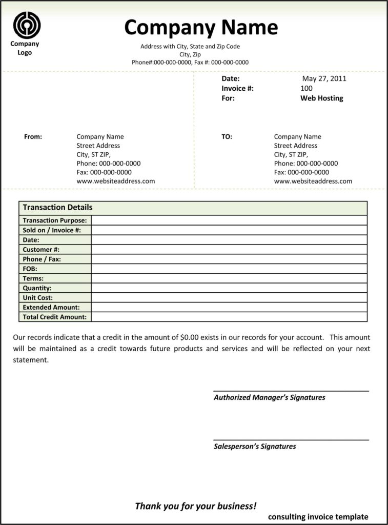 Sample Plumbing Invoice and Contractor Invoice Template Word Free Rabitah