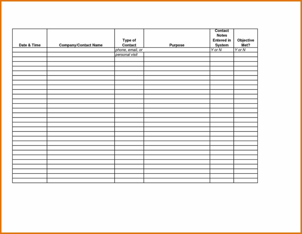 Sample Sales Call Reports and Sales Call Sheet Template Projection Template Best Business Sheet