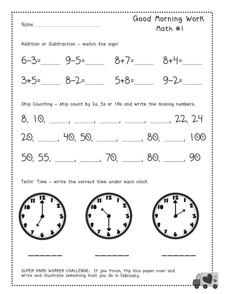 Saxon Math Grade 4 Worksheets and Printables Morning Math Worksheets Eatfindr Worksheets Printables