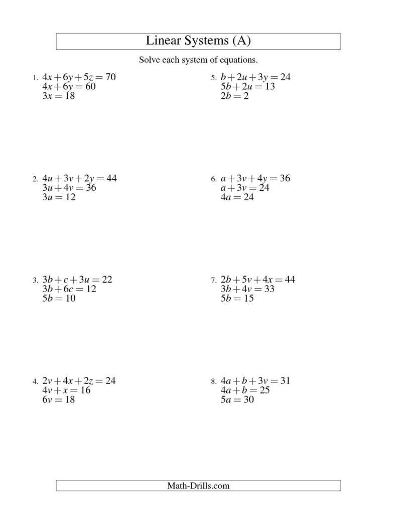 Saxon Math Worksheets 3rd Grade and solving for A Variable Worksheet Defendusinbattleblog