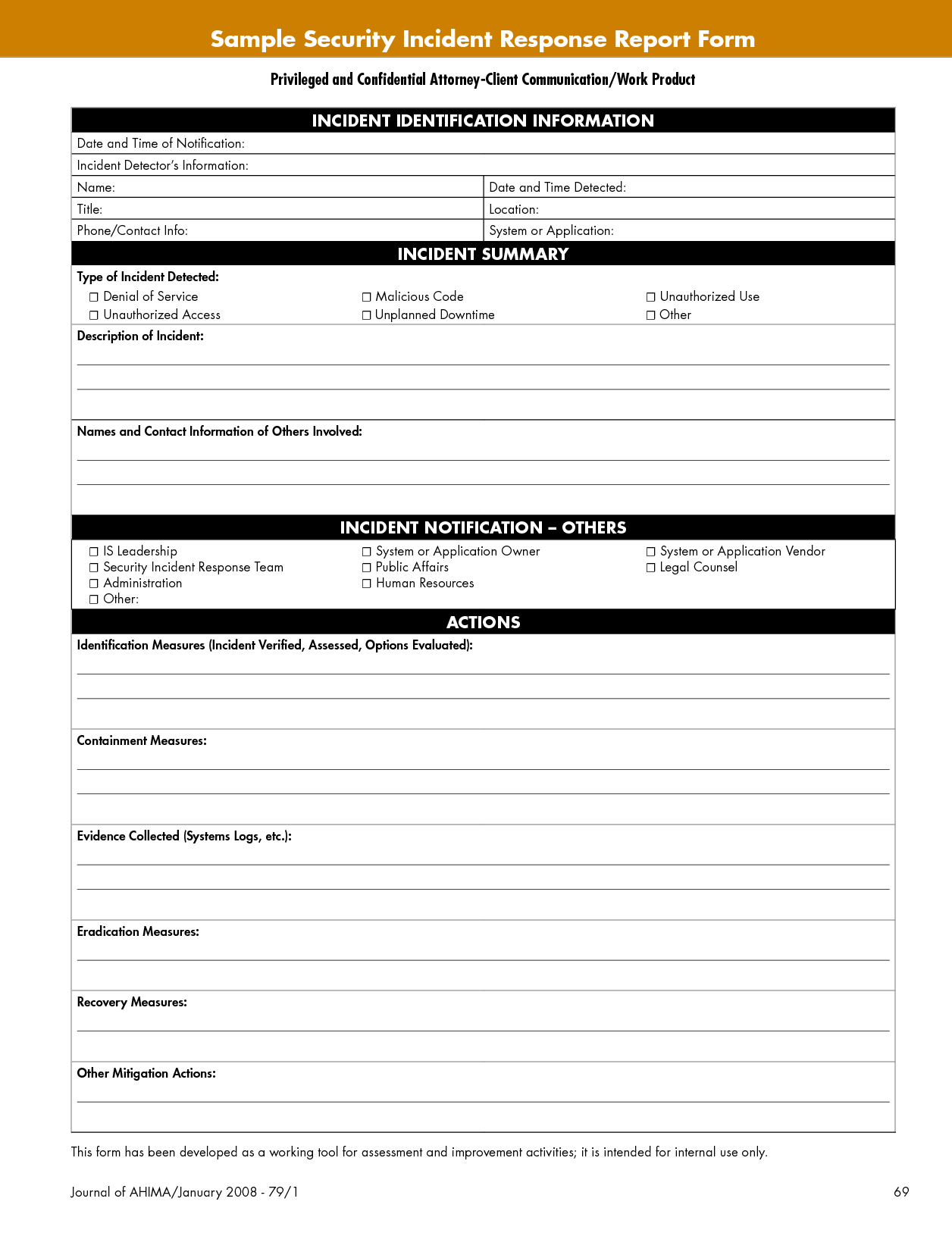 Security Incident Report form Sample and Best Photos Of Security Incident Report Template Security