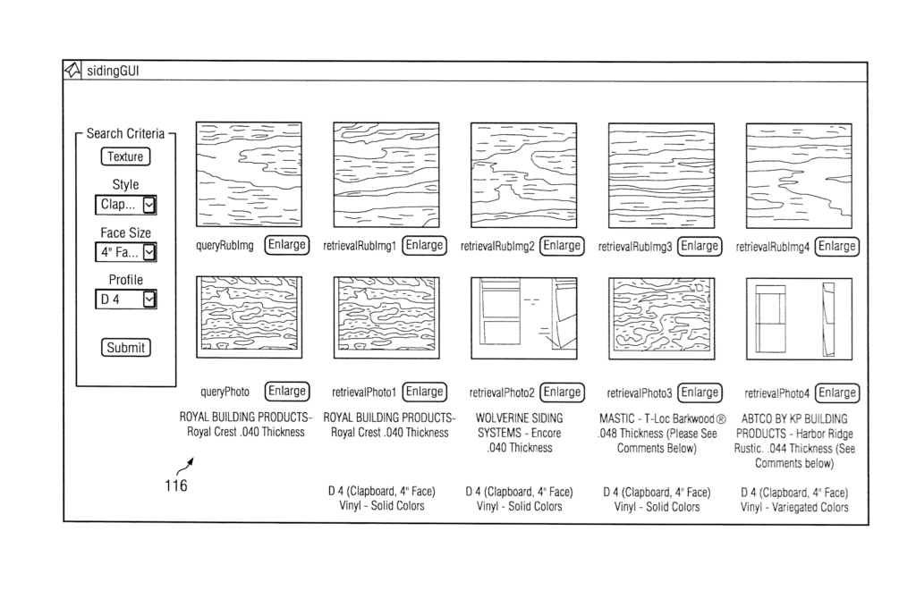 Siding Estimate Template and Patent Us Siding Identification Systems and Methods