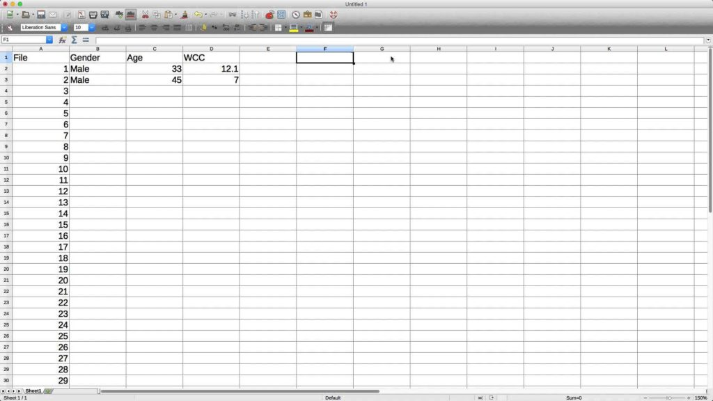 Simple Spreadsheet Program and Spreadsheet software Youtube