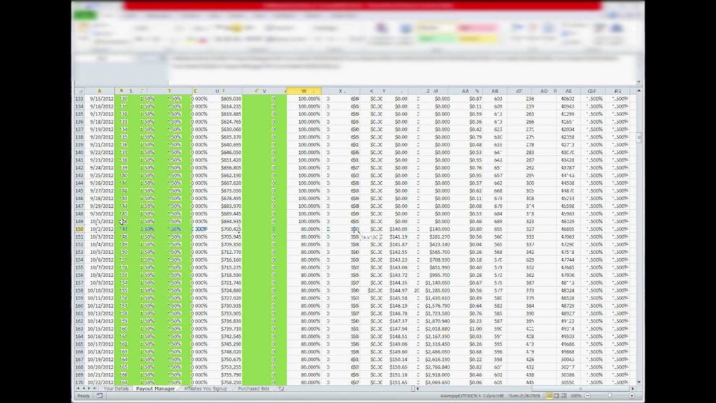 Simple Spreadsheet Program and Zeekrewards Rewards Calculator Spreadsheet Program Tutorial Part