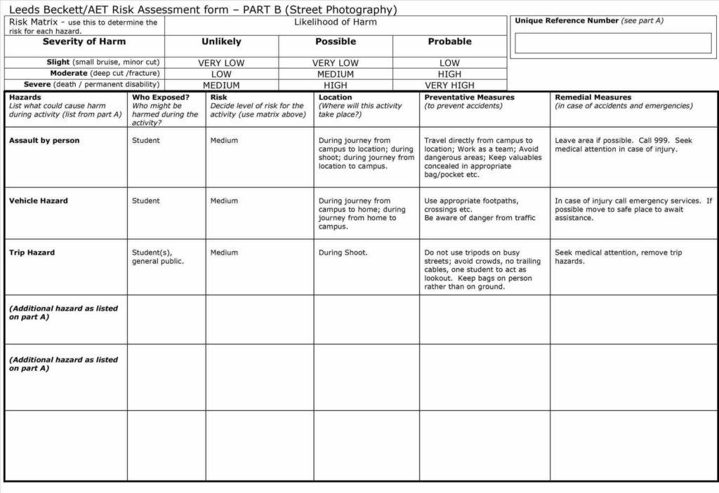 Social Media Report Sample and Sample My Personal Mooc Risk assessment Report Template Free