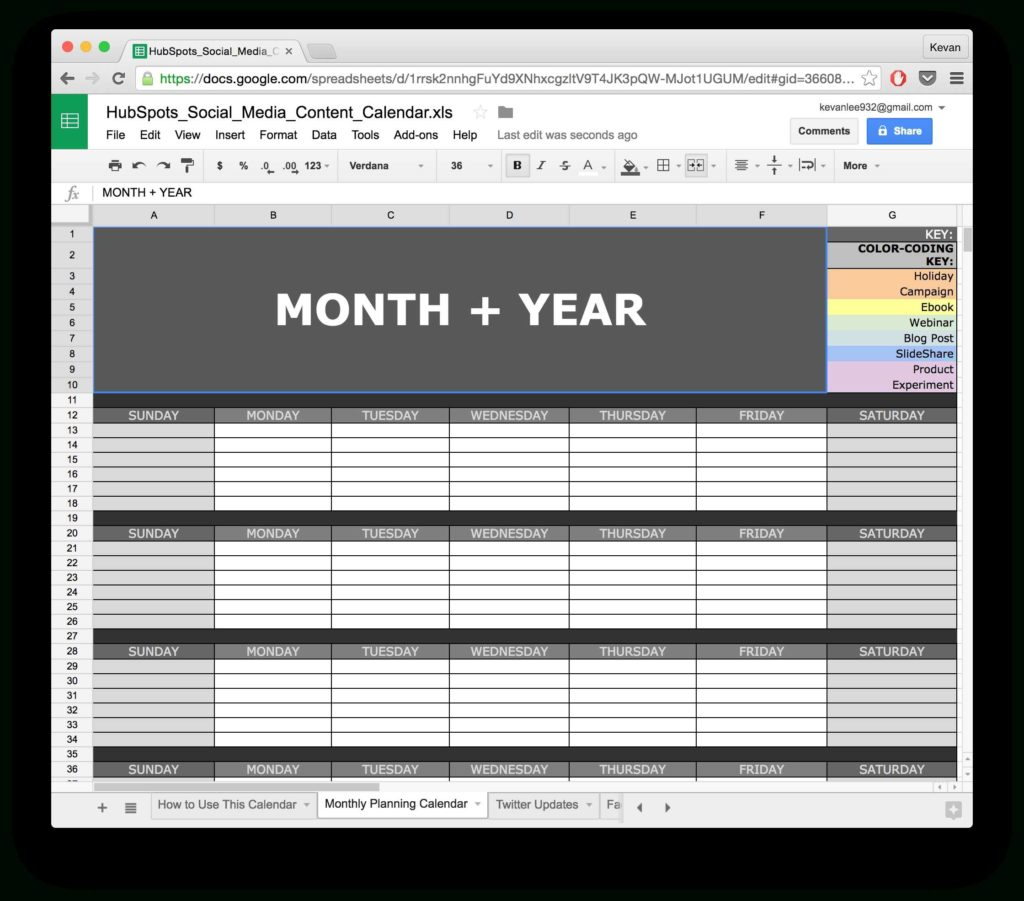 Social Media Tracking Spreadsheet and 10 Ready to Go Marketing Spreadsheets to Boost Your Productivity