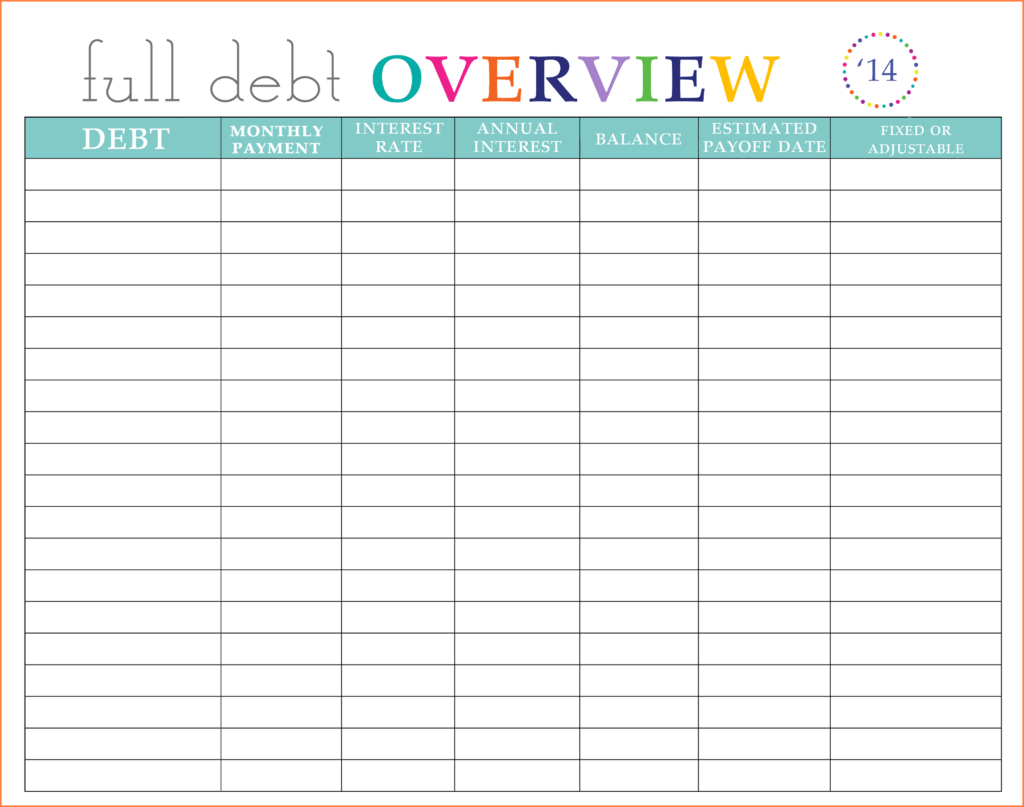 Spreadsheet for Retirement Planning and 9 Debt Planner Spreadsheet Excel Spreadsheets Group