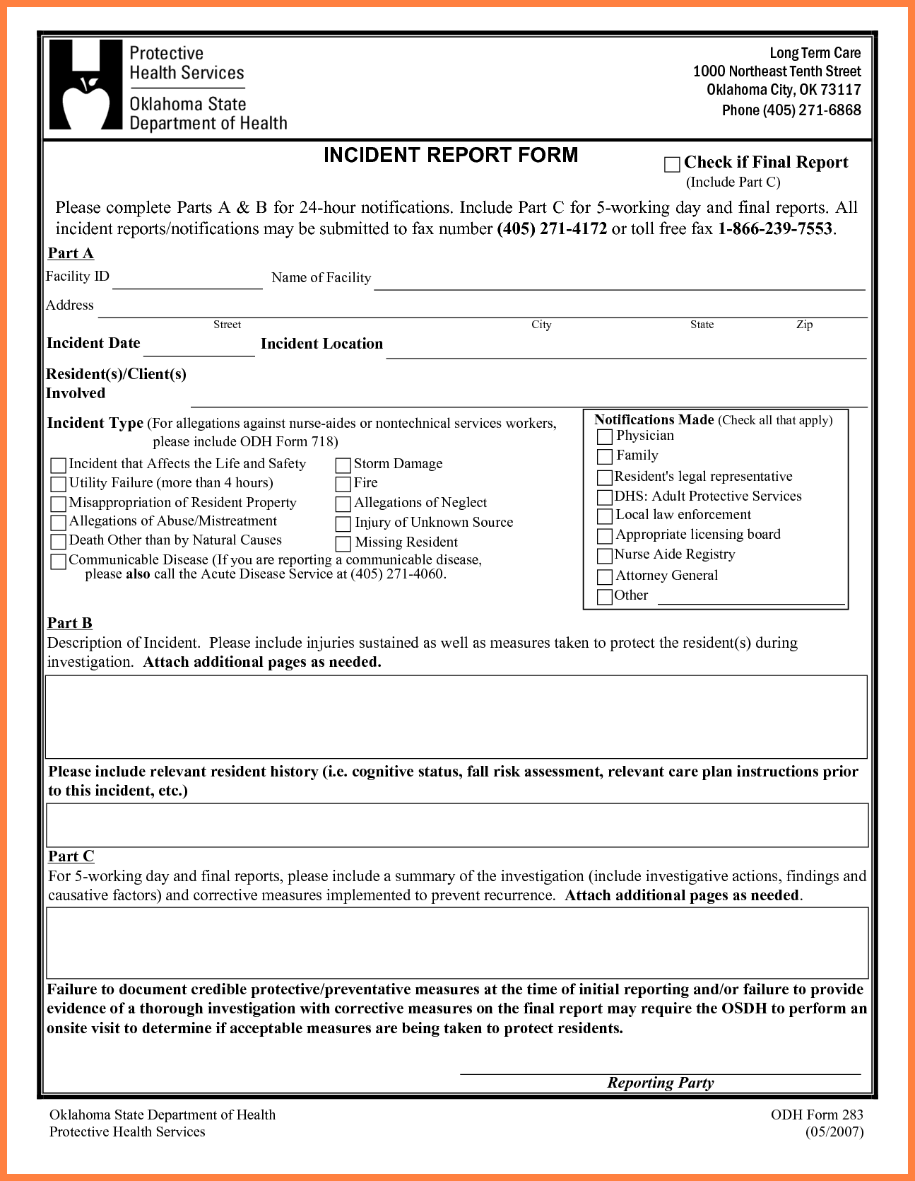 Technology Incident Report Template and 4 Security Incident Report Template Word Progress Report