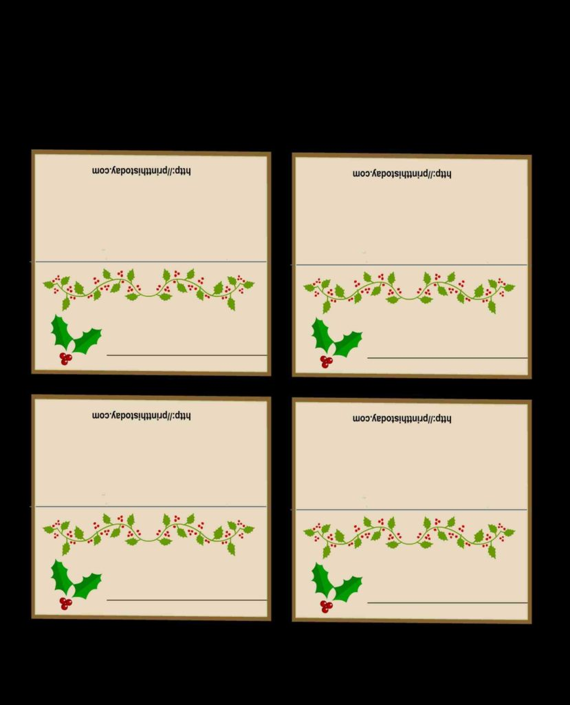 Tent Place Card Template 6 Per Sheet and About Cards On Pinterest Print Best Place Card Template 6 Per
