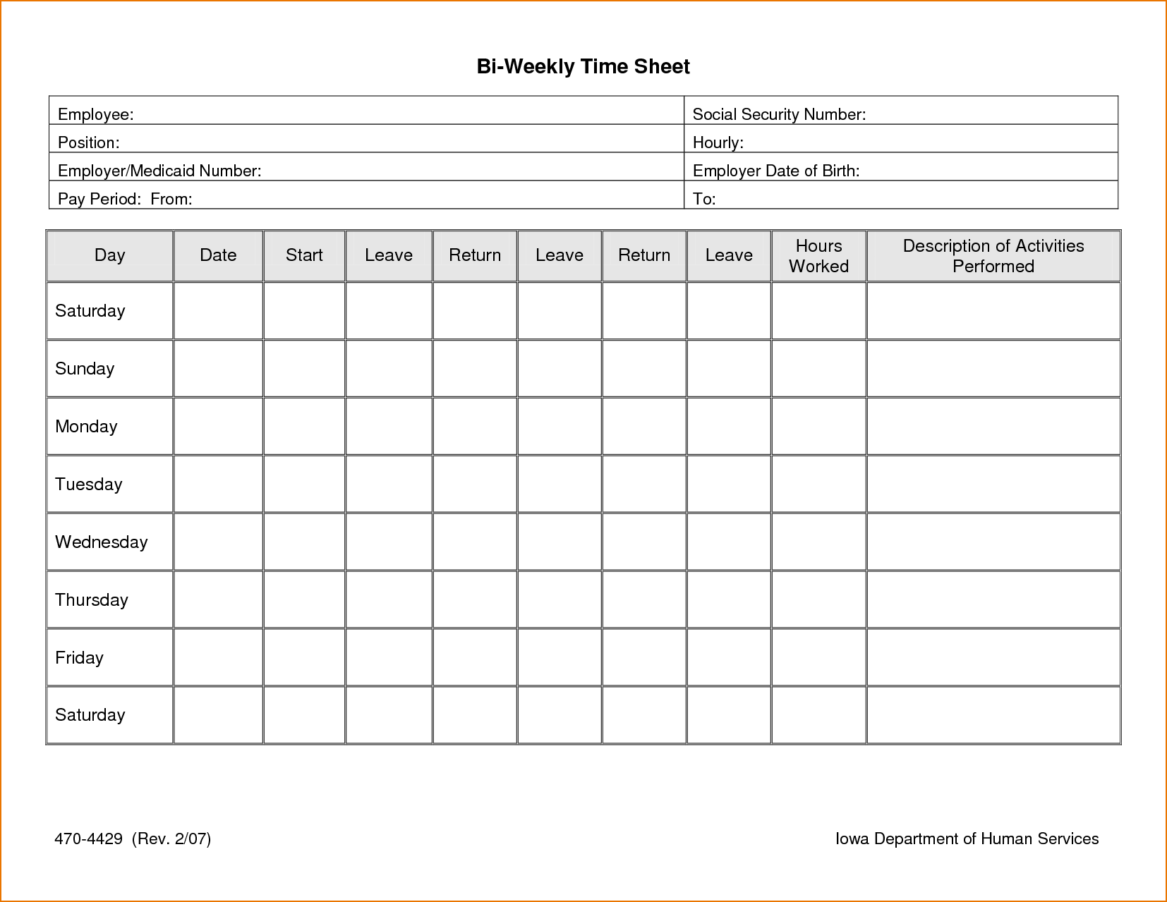 Time Clock Spreadsheet and Excel Timesheet Template with formulas Time Spreadsheet Template