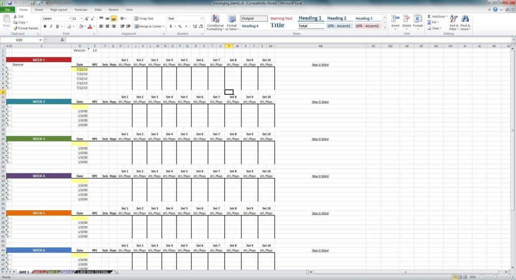 Time Tracking Spreadsheet and Excel Training Matrix Examples Spreadsheets Training Spreadsheet