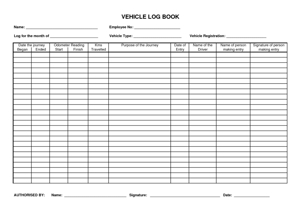 Truck Driver Profit and Loss Statement Template and Log Book Template Rapidimg
