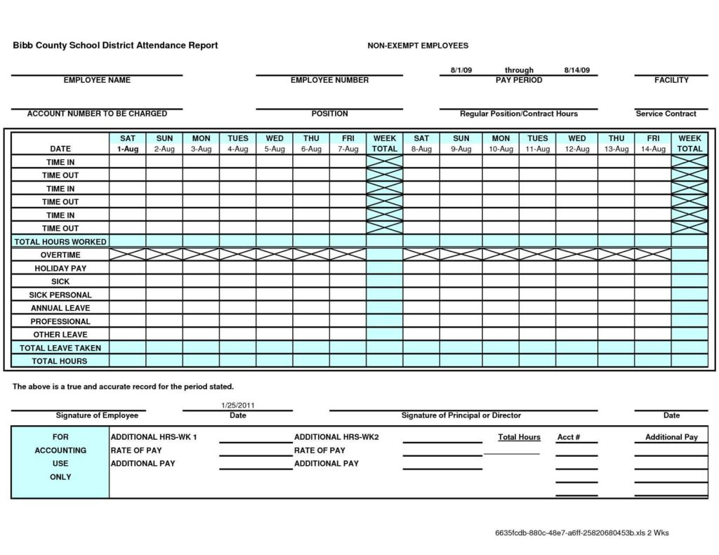 Vacation Tracking Spreadsheet and Employee Time Tracking Spreadsheet Teerve Sheet