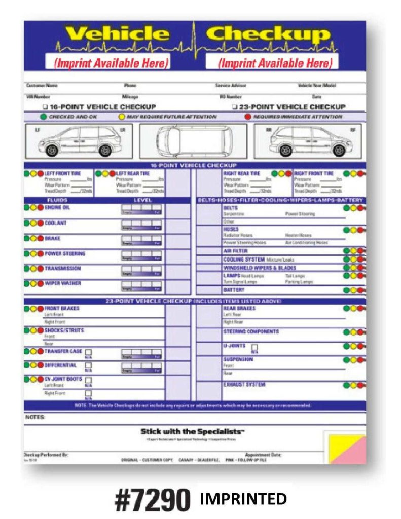 Vehicle Service Sheet Template and Vehicle Inspection Checklist Vehicle Inspection Sheet Vehicle