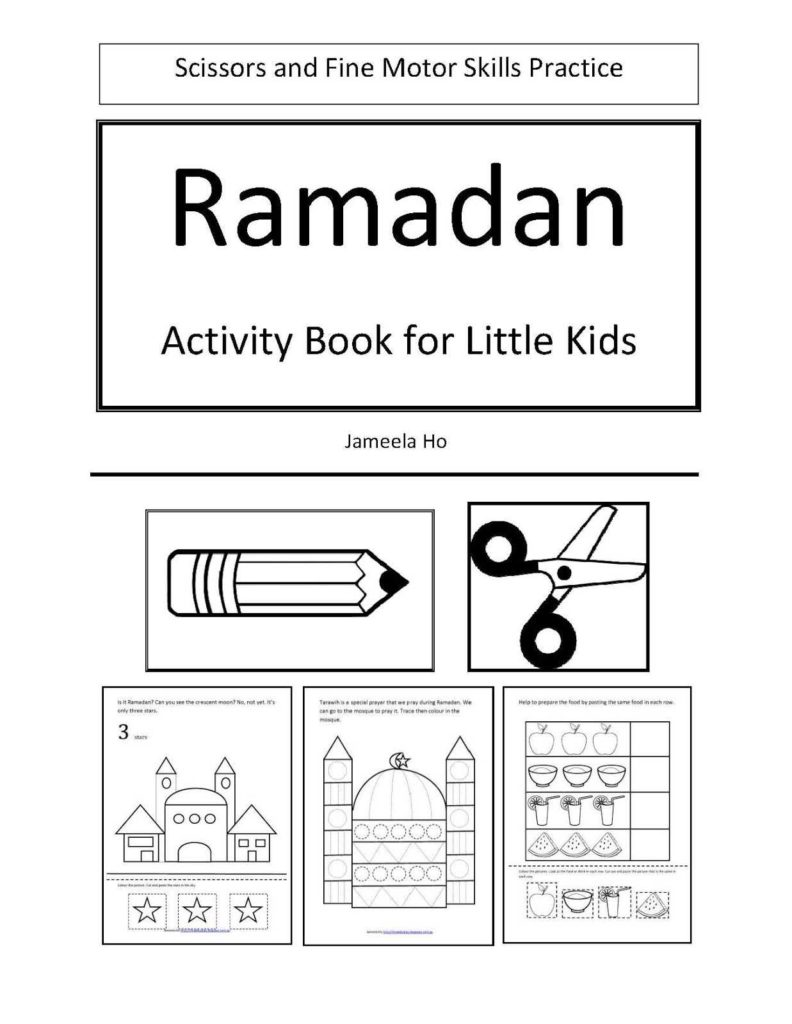 Worksheets for toddlers Free Download and Ilma Education S Eduparenting Free Ramadan Activity