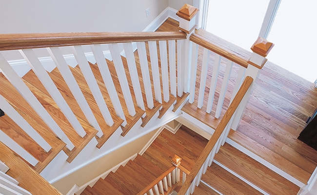 Stairs Stair Parts Attic Stairs Tague Lumber | Heritage Stair And Railing | Stainless Steel | Balcony Railing Design | Indoor Stair | Interior Stair | London Ontario